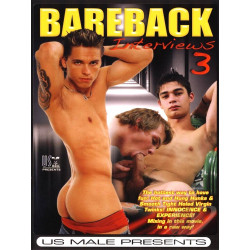 Bareback Interviews #3 DVD (US Male) (18832D)