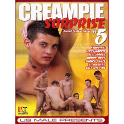 Creampie Surprise #5 DVD (US Male) (18874D)
