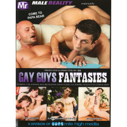 Gay Guys Fantasies #1 DVD (Male Reality) (19048D)