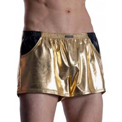 Manstore Grope Shorts M2011 Underwear Gold/Black (T7793)