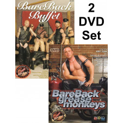 Bareback Buffet & Bareback Grease Monkeys 2-DVD-Set (ZyloCo) (19272D)