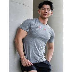 Supawear Spectrum T-Shirt Dark Grey (T7805)