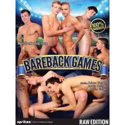 Bareback Games DVD (Spritzz) (19093D)