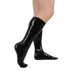 Fetisso Stockings Knee-Length Black (T3563)