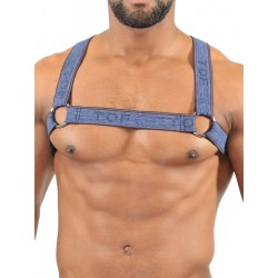 TOF Elastic Harness Jeans Blue (T7536)