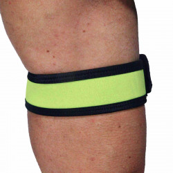 RudeRider Neoprene Puppy 2 Biceps Straps Yellow (T7258)