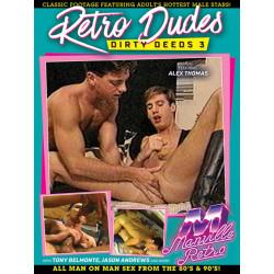 Retro Dudes Dirty Deeds #3 DVD (Manville Classics) (19870D)