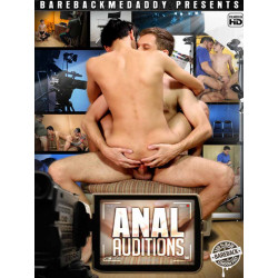Anal Auditions DVD (Bareback Me Daddy) (20139D)