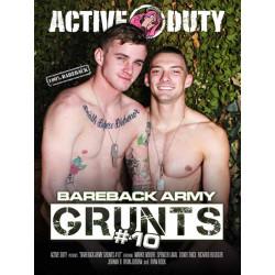 Bareback Army Grunts #10 DVD (Active Duty) (20166D)