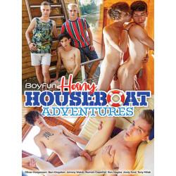 Horny Houseboat Adventures DVD (BoyFun) (20255D)