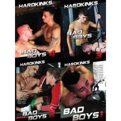 Bad Boys 4-DVD-Set (Hard Kinks) (20524D)