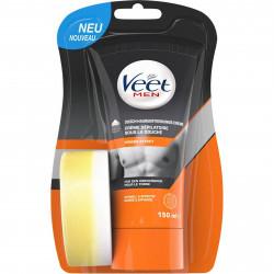 Veet Men Shower Hair Removal Gel 150ml With Sponge (E89000)