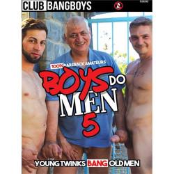 Boys Do Men #5 DVD (Club BangBoys) (20635D)