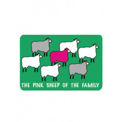 Pink Sheep Mousepad