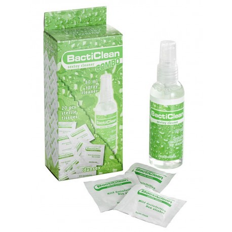 BactiClean - Combo Clean Kit 80ml + 20-Tissue Box (T4858)