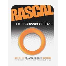 The Brawn Glow Cockring Orange (Rascal Toys)