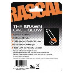 The Brawn Cage Glow Orange (Rascal Toys) (T4963)