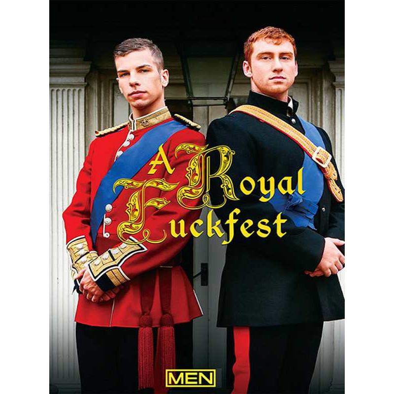 A Royal Fuckfest DVD (MenCom) (13759D)