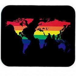 Rainbow World Mousepad (T1058)