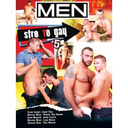 Str8 To Gay #5 DVD (MenCom) (13158D)
