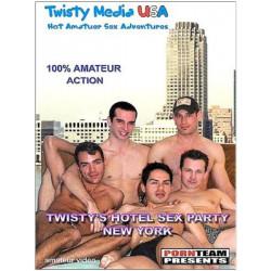 Twisty`s Hotel Sex Party: New York DVD (Twisty Media)