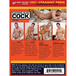 Eastern Bloc Cock DVD (Straight Guys for Gay Eyes)