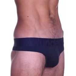 Rounderbum Thong Underwear Black (T4815)