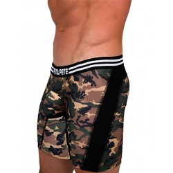 Pistol Pete Commando Compression Short Underwear Olive (T5023)
