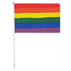 Regenbogenflagge / Rainbow Flag 30 x 45 cm (T0125)