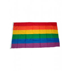 Gay Pride Rainbow Flag 90 x 150 cm (T0126)