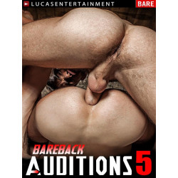 Bareback Auditions #5 (Lucas) DVD (14493D)