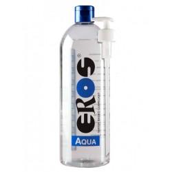 Eros Megasol Aqua 1000 ml / 33 oz. Water-based Lubricant (Bottle) Incl. Pump (E33900)