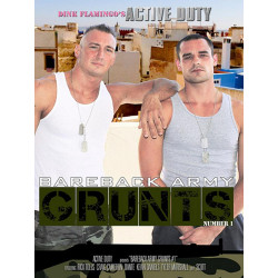 Bareback Army Grunts #1 DVD (Active Duty) (15140D)