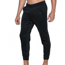 2Eros BLK Aktiv Cropped Joggers Pants Black (T4198)