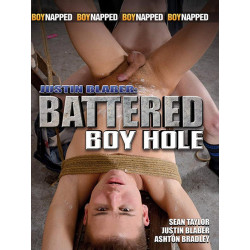 Justin Blaber Battered Boy Hole DVD (Boynapped) (15218D)