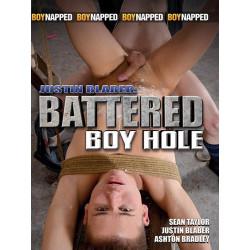 Justin Blaber Battered Boy Hole DVD (Boynapped) (15218D)