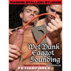 Sounding #6 - Wet Punk Faggot DVD (Raging Stallion) (06970D)