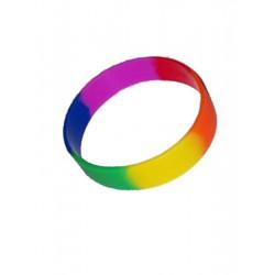 Rainbow Youth Bracelet Silicone short / Armband kurz 2inch (T4748)