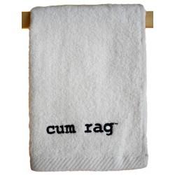 Cum Rag Towel/Handtuch klein White 28 x 43 cm - 11 x 17 inch (T5241)