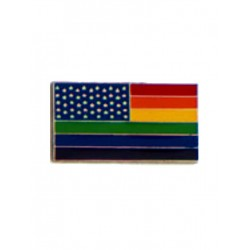 Pin Stars And Rainbow Stripes (T5222)