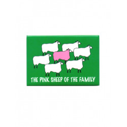 Pink Sheep Of The Family Magnet (T5120)