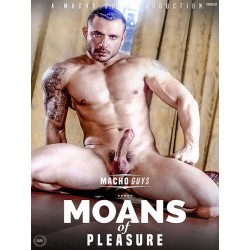 Moans of Pleasure DVD (Macho Guys) (15337D)