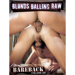 Bareback Classics 20: Blonds Balling Raw DVD