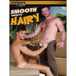 Smooth Meets Hairy #1 DVD (Cocksure Men) (11181D)