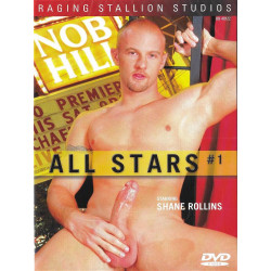 All Stars #1 - Shane Rollins DVD (Raging Stallion) (15609D)