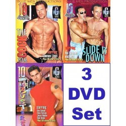 Blue Men 30 h Pack 4 3-DVD-Set (10252D)